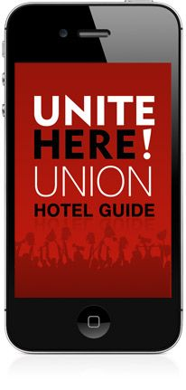 This holiday season if you just can't take sleeping on the couch anymore fire up the UNITE HERE Hotel Guide app and find a more comfortable place to sleep that respects its workers!  http://www.unionhotelguide.org/