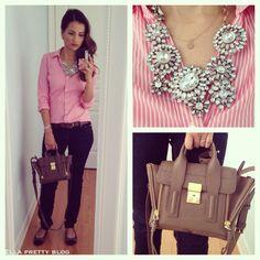 Bag Review: A Look Inside my Phillip Lim Pashli Mini Leather Satchel