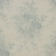 Blue Roses by Kate Forman. 86% Linen