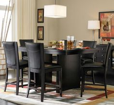 Beautiful Counterheight 710 7 Piece Counter Height Dining Set By Homelegance