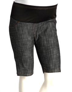 059c4bf9629f0 Plus Size Maternity Shorts Black Maternity Shorts – Mommylicious Maternity  Maternity Shorts, Maternity Sleepwear