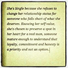 For Single Women Everywhere  - Quit thinking you need a man to complete you