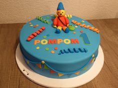 pompom taart
