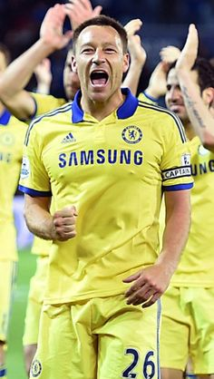 John Terry Chelsea Football, Football Soccer, Football Players, Chelsea Fc Players, Chelsea Blue, John Terry, The Special One, Premier League, Sideshow