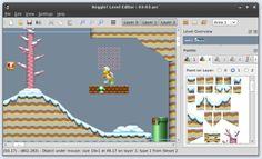 Screenshot of World 3-3 in Reggie!