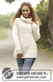 Donna - Modelli gratuiti di maglia e uncinetto di DROPS Design dd0440e3b681