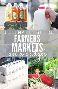 I love to shop the farmers market, but I'm also on a budget! This ultimate guide…