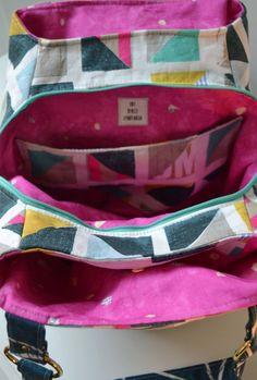 The Lotus Handbag - PDF Sewing Pattern