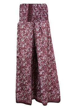 Women's Maxi Skirts Vintage Silk Sari Smocked Waist Divid... https://www.amazon.com/dp/B01J7VFFBG/ref=cm_sw_r_pi_dp_x_u.OMyb2R9EDPN