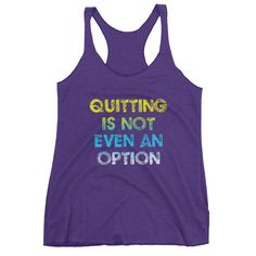 (Quitting) Women's tank top
