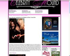 Client in Celebrity Mound with Holly Madison and Dave Navarro