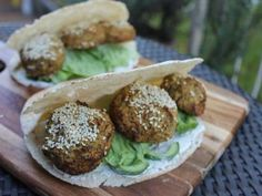 A great vegetarian snack for 2, the falafel balls are oven baked and not fried so its healthy and delicious.