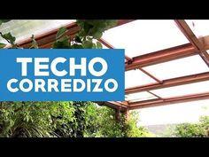 Construye un techo corredizo de policarbonato con la técnica que usan los expertos – Manos a la Obra