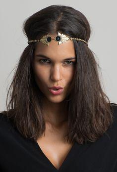 Headband Chantal, bijou de cheveux signé Virginie Mahé Sur ChezVanessa.com, e-shop de créateurs de mode