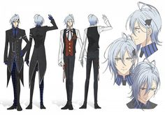 Ikki's Outfits from Amnesia