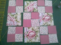 Patchwork quilt step by step: with photos - tinker step by step! Quilt Square Patterns, Patchwork Quilt Patterns, Beginner Quilt Patterns, Quilting For Beginners, Quilt Block Patterns, Square Quilt, Easy Baby Quilt Patterns, Chevron Baby Quilts, Baby Quilt Tutorials