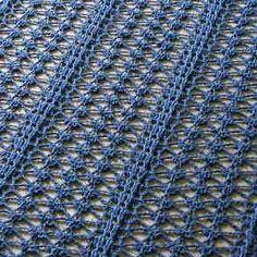Crochet Lacy Shawl by Drew - The Crochet Dude FREE PATTERN!