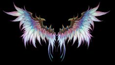 Wings of Freedom Creepypasta X Reader Angel Wings Art, Angel Wings Drawing, Wings Wallpaper, Wings Design, White Wings, Weapon Concept Art, Fantasy Weapons, Angels And Demons, Outdoor Art