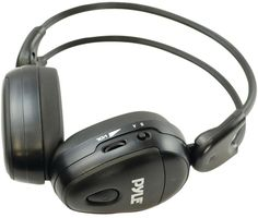 In-Car IR Dual-Channel Wireless Stereo Headphones Compatible for In-Vehicle A/V Use