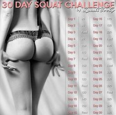 30 Day Squat Challenge: Perfect Booty Workout