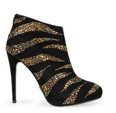 Roberto Cavalli. I don't usually like booties but these. Well I would like these.
