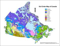 Vegitation Map Of Canada 12 Canada Countrywide Geology/Hydrology/Flora/Fauna Maps ideas
