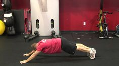 Dryland Exercises for Swimmers - Inch Worm