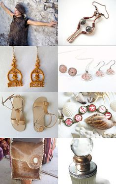 Tan finds by Nino Designs on Etsy--Pinned with TreasuryPin.com