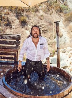 Jason Momoa Is King of the Wild Things The star of AppleTV+'s new series See on making the most of fame, life with Lisa Bonet, and being starstruck by Benjamin Bratt. Benjamin Bratt, Jason Momoa Aquaman, Apple Tv, Hit Games, Brenda, My Sun And Stars, Baywatch, Keanu Reeves, Esquire