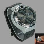 Novelty Watch Shaped Collectable Butane Cigarette Cigar Lighter Watch