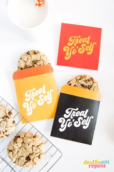 Bolsitas imprimibles // Treat Yo'Self Printable Treat Bags!