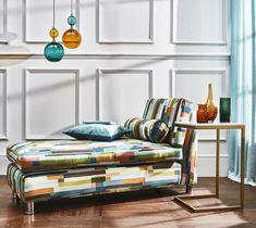 Prestigious Textiles, Modern Muse, Blue Colour Palette, Mondrian, Geometric Shapes, Digital Prints, Cushions, Colours, Room