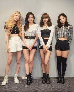 much better than the OG Blackpink Fashion, Korean Fashion, Fashion Outfits, Stage Outfits, Kpop Outfits, Kim Jennie, Mode Rose, Black Pink Kpop, Blackpink Photos