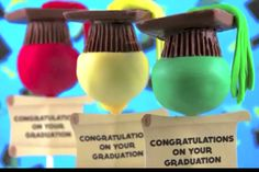 Graduation cake pop ideas!