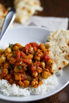 This deliciously warm and inviting Indian dish, chana masala, is one that you'll keep a staple in your house if you love Indian flavors!