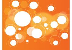 Digital Orange Background -  Vector orange gradient backdrop with a random pattern of circles and geometric shapes floating throughout the design. A simple but professional and interesting setting for your original digital art creations. Download as AI, PDF and JPEG files for all your design projects.  - http://dawnanime.com/digital-orange-background-2/?utm_source=PN&utm_medium=weloveso80%40gmail.com&utm_campaign=SNAP%2Bfrom%2BWeLoveSoLo