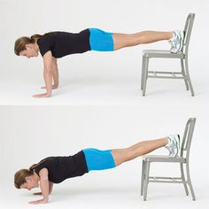 Raised-feet push-up: Do this 30-minute strength workout 2–3 times per week, with at least one day of rest in between. | Health.com