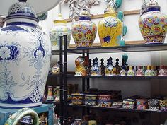 Talavera shop.... I want it all!!!!