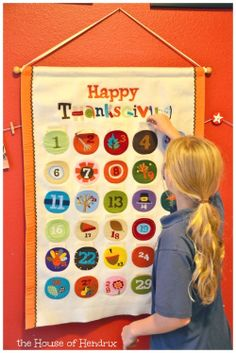 "A Thanksgiving Advent - Teaching kids to have hearts for gratitude before the Holiday season.  Print and fill out these cute ""I'm Thankful for"" cards each day in November. Read them on Thanksgiving."