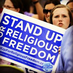 Stand up for religious freedom!