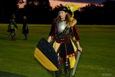 LARP - Erin Walking Away From Duel by sunandswords on DeviantArt