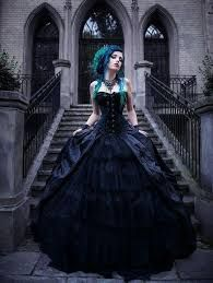 Top Gothic Fashion Tips To Keep You In Style. As trends change, and you age, be willing to alter your style so that you can always look your best. Consistently using good gothic fashion sense can help Wedding Dress Black, Goth Wedding Dresses, Wedding Gowns, Gothic Prom Dresses, Bridesmaid Dresses, Gothic Dress, Gothic Outfits, Black Corset Dress, Gothic Gowns
