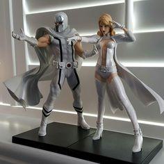 Kotobukiya Magneto & Emma Frost