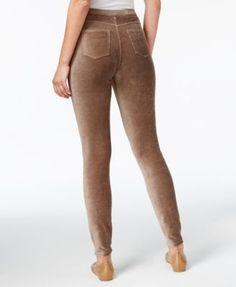 Style & Co Petite Corduroy Leggings, Created for Macy's - Purple P/XS