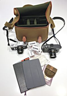"""The Billingham L2 is the second edition of a bag Billingham designed specifically for Leica cameras. In fact the first edition of the bag was called """"Alice"""" which is an anagram of Leica…"""