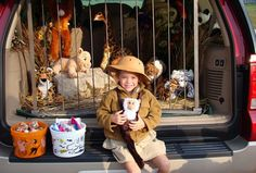 Daniel in the lion's den for trunk or treat! | Crafty ...