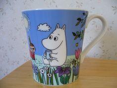 """Muumimuki """"The story of moominvalley"""" -sarja (vaaleansininen) Yamaka Hinta:"""
