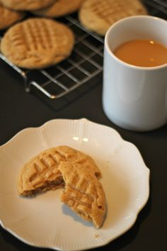 Old-Fashioned Chewy Peanut Butter Cookies