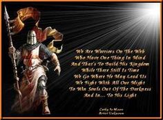 But thanks be to God, which giveth us the victory through our Lord Jesus Christ. Spiritual Warrior, Prayer Warrior, Spiritual Warfare, Warrior Quotes, Corinthians Tattoo, Apostles Creed, Christian Warrior, Angel Warrior, Templer