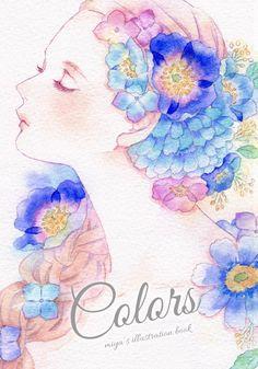 Manga Art, Anime Art, Collage Sheet, Anime Style, Doodle Art, Art Girl, Watercolor Paintings, Design Art, Chicano